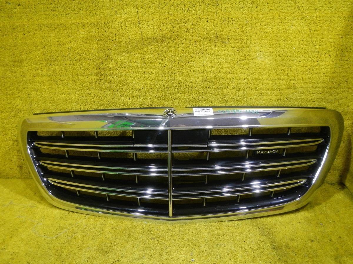 Решетка радиатора Mercedes S W222