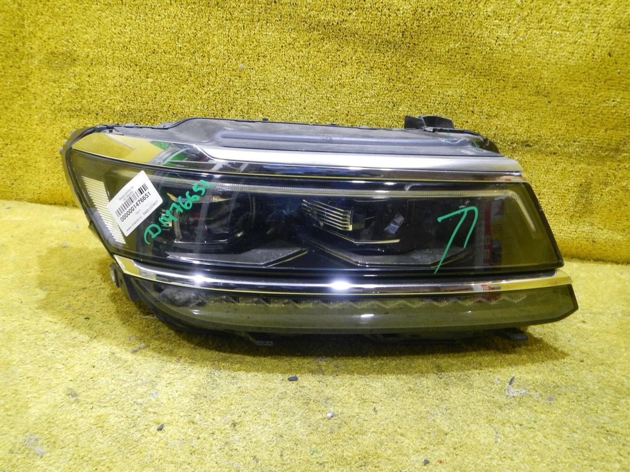 Фара правая в сборе LED Volkswagen