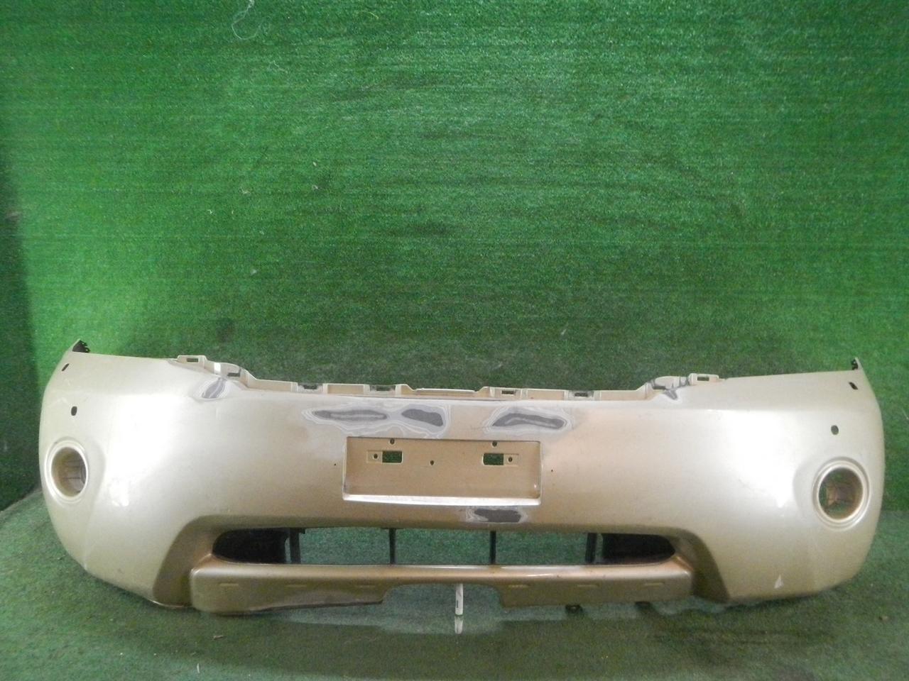 Бампер передний Nissan Patrol Y62 (2